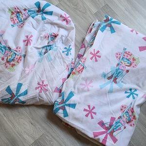 Stawberry Shortcake Flannel Sheet Set